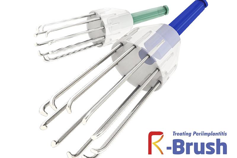 R-Brush cepillo limpiador de implantes
