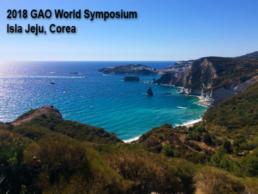 World Symposium GAO - Isla Jeju