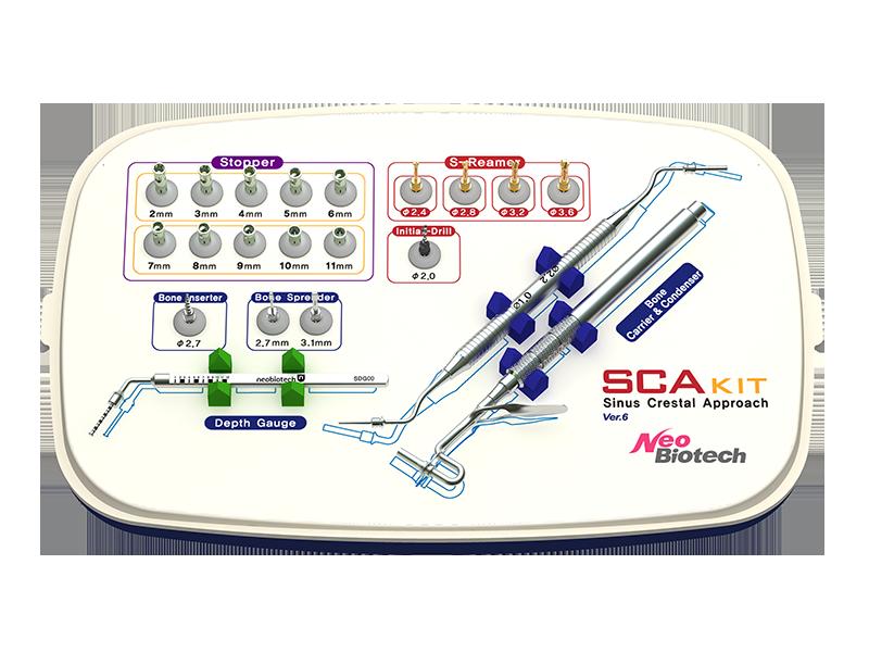 SCA Kit abordaje crestal del seno