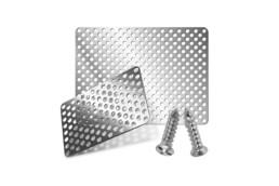 Malla de titanio rectangular