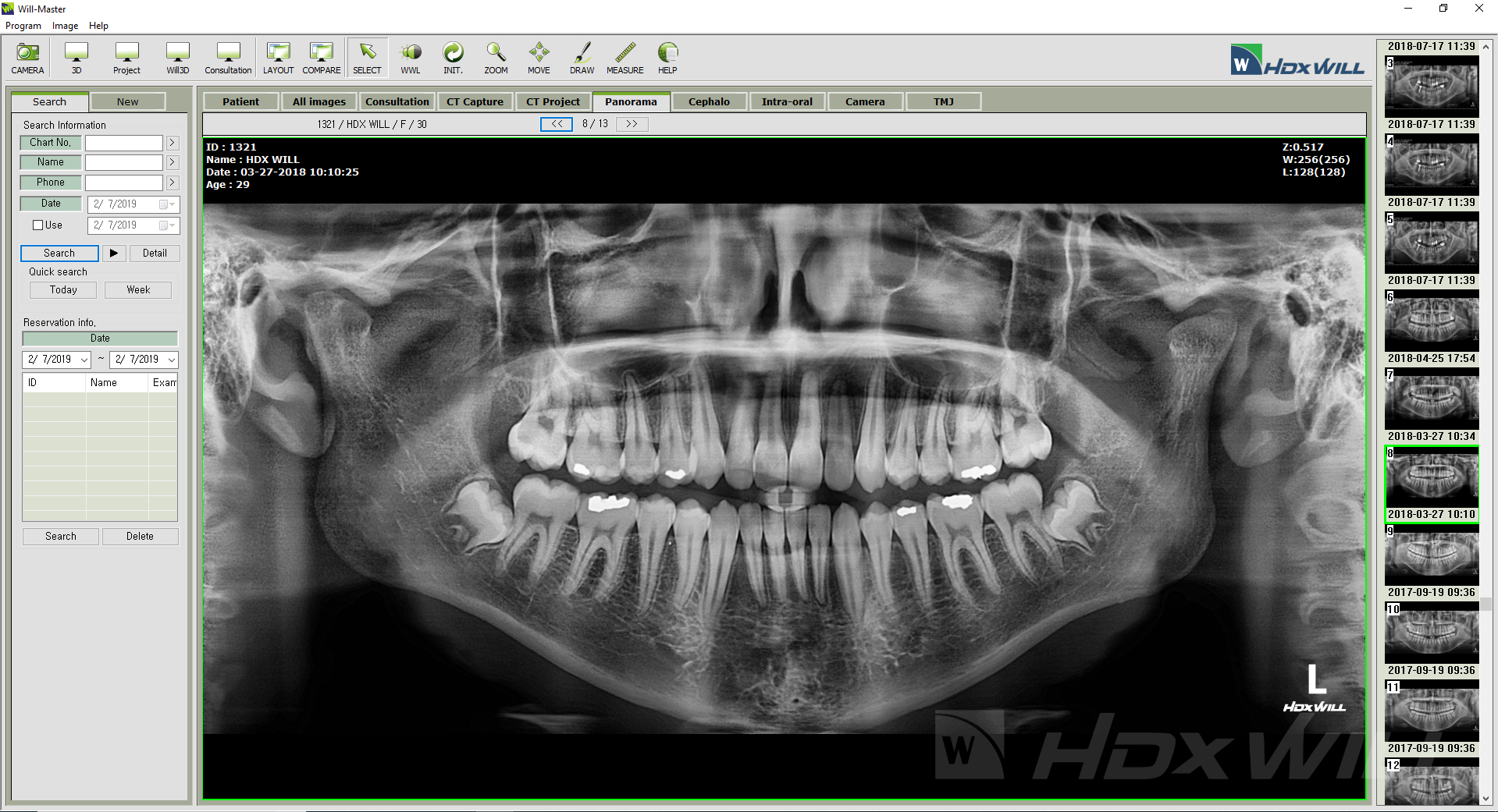 Dentri 2D Viewer