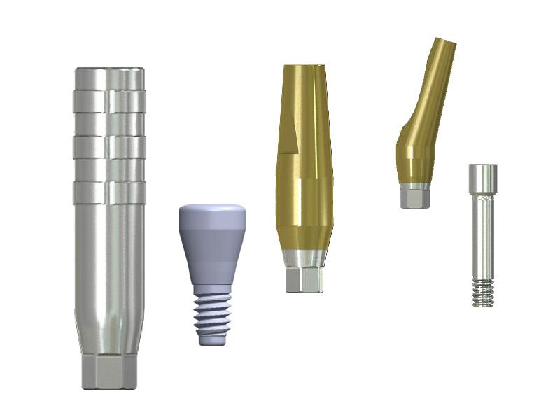 Componentes protésicos S-Narrow
