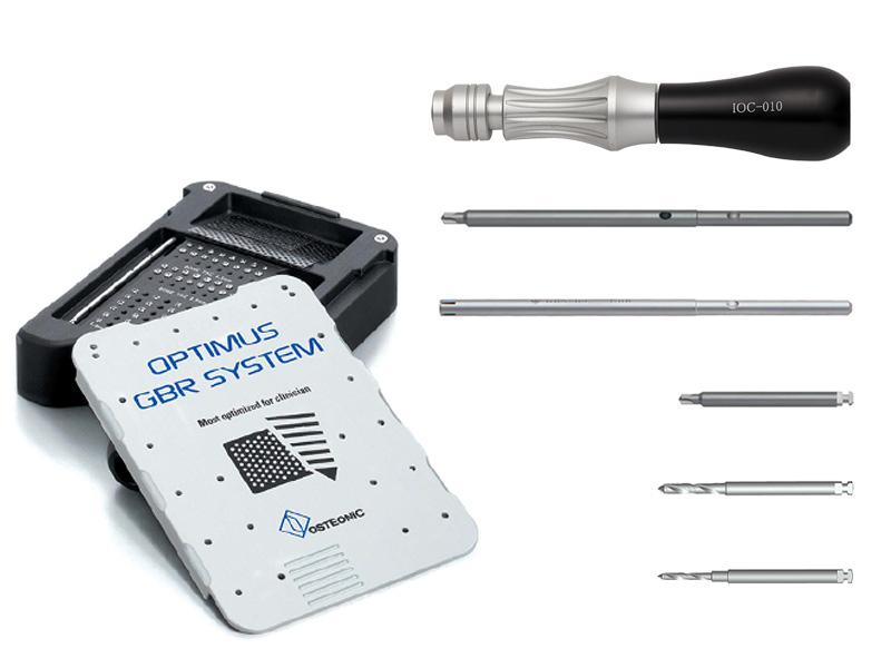 Kit GBR combinado chinchetas y tornillos